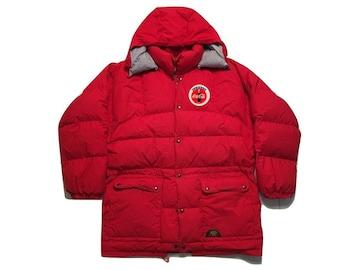 Hoodie Jacket winter snow ski Vintage 90s Coca Cola - Sz L
