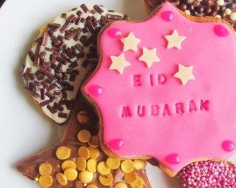 Eid Cookie Cutters, Ramadan Cookies, Eid Biscuits, Eid gift, Ramadan Gift, Crescent Cookie Cutter, Star Cutter, Eid Party, Eid Mubarak