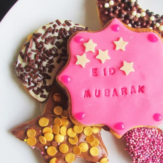 Eid cookie cutters ramadan cookies eid biscuits eid gift like this item negle Images