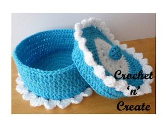 Trinket Bowl Crochet Pattern (DOWNLOAD) CNC12