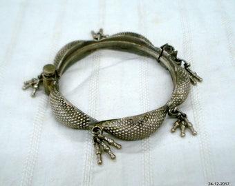 vintage bangle bracelet antique bangle bracelet tribal old silver jewelry