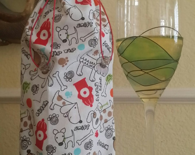 Gourmet Wine Bag-Pooch Collection (Fire Hydrant)
