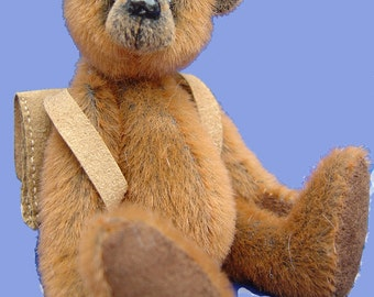Cooper Miniature Teddy Bear E-pattern