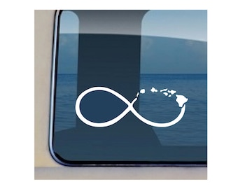 Infinity Decal Hawaiian Islands Sticker 574