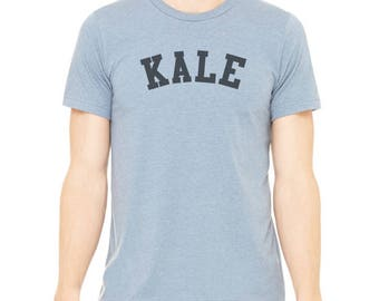 SALE!! CLEARANCE, Kale Tee, Funny tee, Vegan Shirt, Vegetarian Tshirt, Graphic Tee, Sample Sale, Boyfriend Gift, Mom Gift, Gift for Vegan