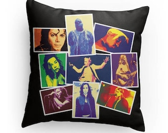 Rock Icons of the 1990's, Rock and Roll Pillow