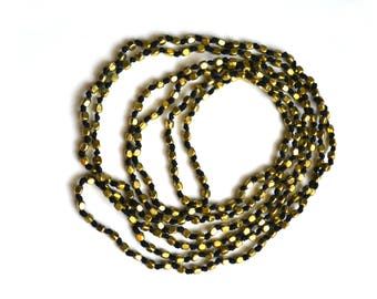"SALE 17"" Camille | Black & Gold"