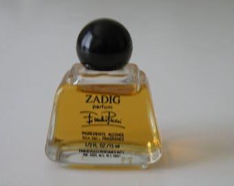 Zadig by Emilio Pucci pure perfume 1/2 oz