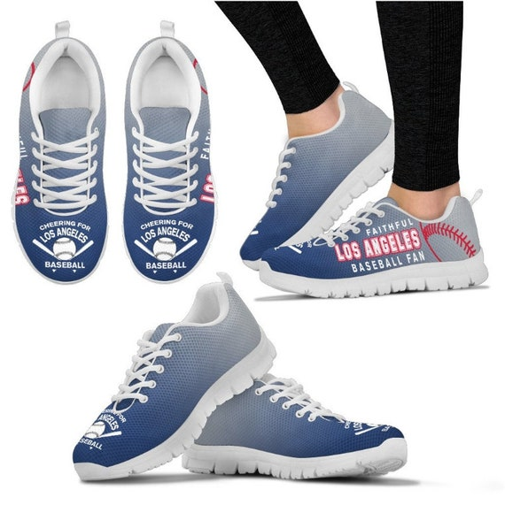 Walking Shoes Baseball Fan Dodgers Angeles Los 045A HB PP Sneaker RnxPBp7