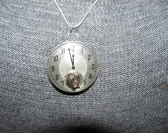 One-Of-A-Kind Vintage Pocket Watch Pendant