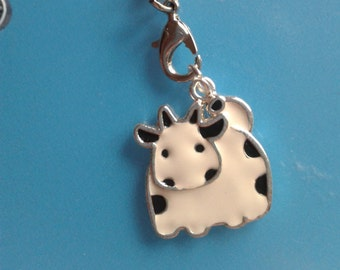 Cow planner charm
