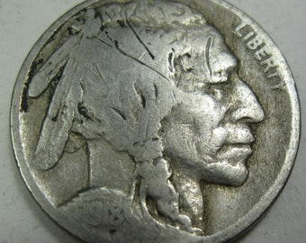 1918 Indian Head nickel grades VG (#E531m)