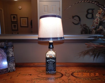 Jack Daniels Liquor Bottle Lamp