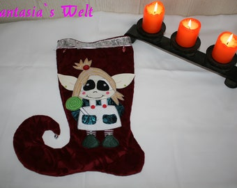 Nicholasshoe / christmasdekoration with elf