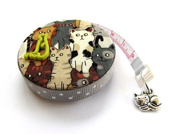 Measuring Tape Sweet Cats Mix Pocket Retractable Tape Measure