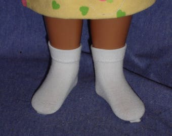 """Ankle Socks for 16"""" Sasha doll: 30 colors Available!"""