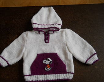 sweater with hood and Kangaroo pocket size 12 months