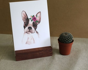 """French Bulldog Greeting Card 