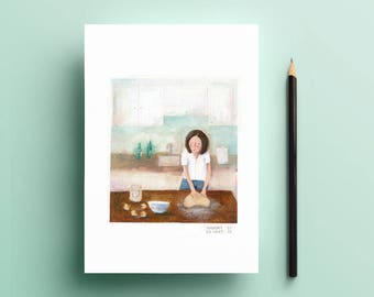 Art print - Dough (numbered and signed)
