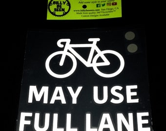 """May Use Full Lane  LG 6""""X6"""" Reflective Iron On patch for clothing and accessories"""