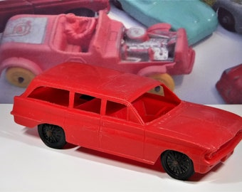 1962 OLDSMOBILE F85 TOY Station Wagon... Made By Processed Plastics Company...Very Collectible For The Wagon Lover!