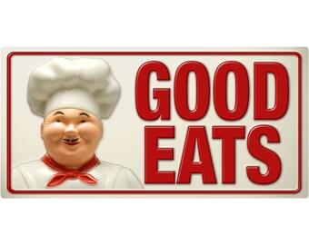 Good Eats Italian Chef Wall Decal #45839