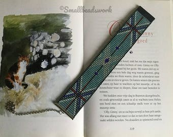 Bookmark blue cross