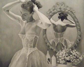 Vintage Vanity - Study in Black and White