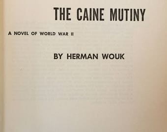 The Caine Mutiny, 1951 first edition