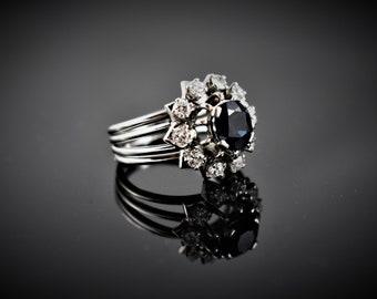 Diamond Gem Antique Ring