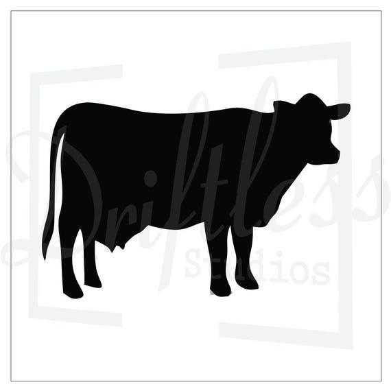 Ganado plantilla 2, vaca plantilla, plantilla de dirección ...