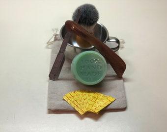 Shaving Kit with Soap