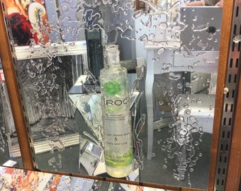 Aluminium polished drink 3D art Ciroc apple green  ( picture )