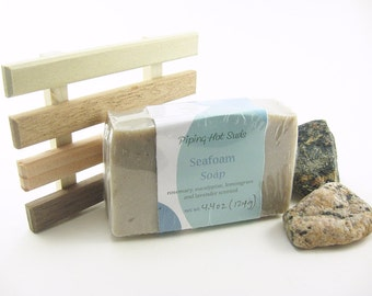 Gift Set with Soap Dish, Handmade Soap, Great Teacher Gift, Reclaimed Wood, You Pick Your Soap, Organic Natural Soap, Soap Deck
