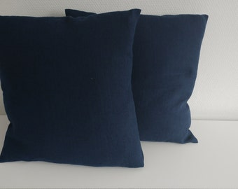 Pillow, Throw Pillow, Pillow Cover, Cushion, Decorative Pillow,  Navy  modern home decor