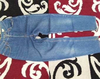 vintage womens levis 501 jeans size 5 made in usa