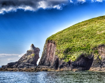 Ireland Photography, Dingle Bay, Rustic Lighthouse, Ireland Landscape, Irish Decor, Ireland Print