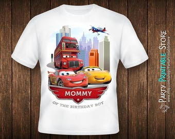 Cars birthday shirt, Cars birthday shirt for mom, Cars birthday shirt iron on, Cars birthday shirt for women, Cars birthday shirt family