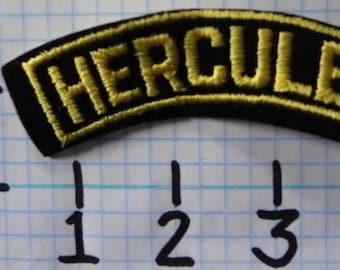 """Vintage """"Hercules"""" Motorcycle Patch (004)"""