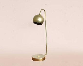 Modern Brass Lamp U2022 Quiet Sid U2022 Task Lamp U2022 Mid Century Modern Lighting U2022  Brass