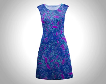 Bacterial cell shapes shift dress
