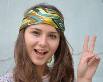 Silk Bandana Scarf, Neckerchief, small kerchief, Neck Scarf, Square Scarf, Neck Tie Scarf, gift under 20