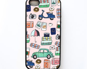 Let's Travel iPhone Case