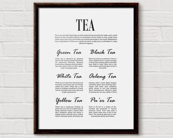 tea kitchen decor, Tea Home Decor, Tea Art, Tea Print, Tea Decor, Tea Lover Gift, Tea Poster, Tea Wall Art, Tea Sign, Tea Signs, Tea Gifts
