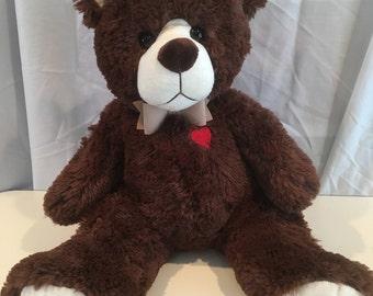 Brown Plush Cuddly Bear