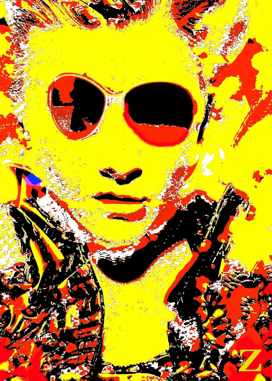 Elvis Presley Art Tech Modern Fine Art Elvis impersonator