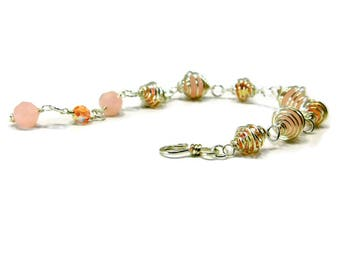 Caged Crystal Bracelet Kit & Tutorial for Wire Wrapping Mastering the Basics GutsyGuide