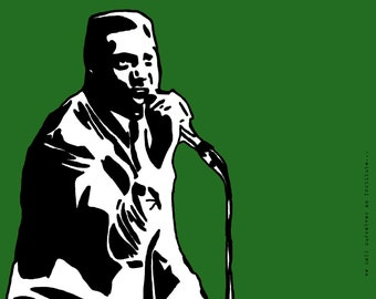 Otis Redding Art Print