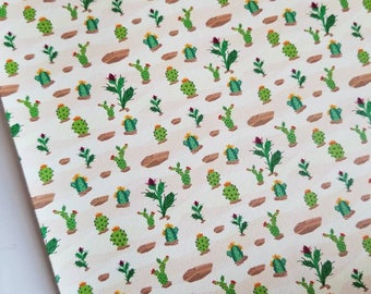 CACTUS- custom faux leather sheets,8x11 faux leather,cactus fabric, cactus material,cactus faux leather,vegan leather, material for earrings