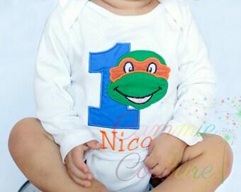 Turtle Birthday shirt